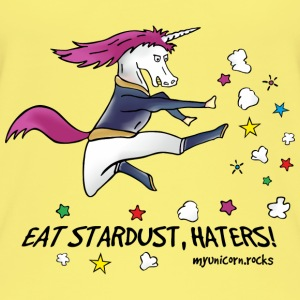Badass Unicorn kicking ass - eat stardust Tops - Camiseta de tirantes orgánica mujer