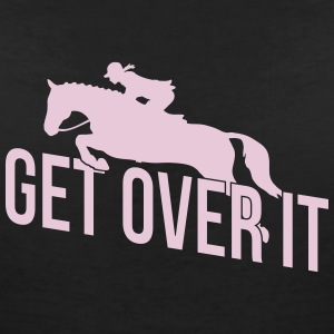Get Over It 1C T-Shirts - Frauen T-Shirt mit V-Ausschnitt