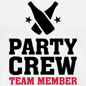 Party Crew Team Member partys birthday jubilee T-Shirts - Men's Premium T-Shirt