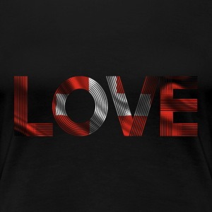 i love switzerland - Frauen Premium T-Shirt