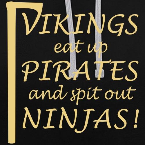 Vikings eat up Pirates!