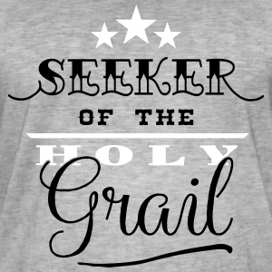 Seeker of the Holy Grail - Männer Vintage T-Shirt