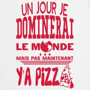 pizza jour dominerai citation monde main Tabliers - Tablier de cuisine
