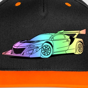 Concept Car Colourful Caps & Mützen - Kontrast Snapback Cap