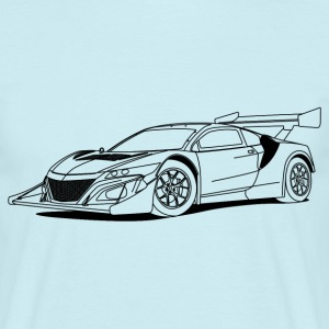 Concept Car Outlines T-shirts - Herre-T-shirt