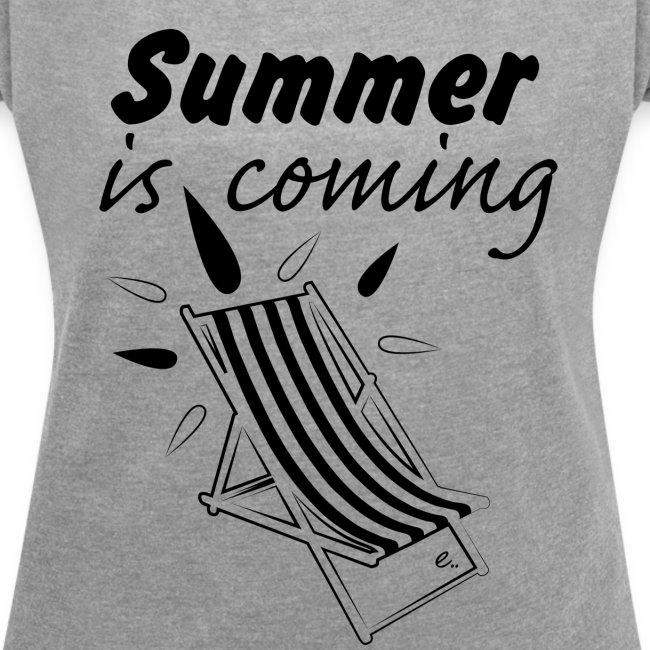 """T-shirt Femme """"Summer is coming"""""""