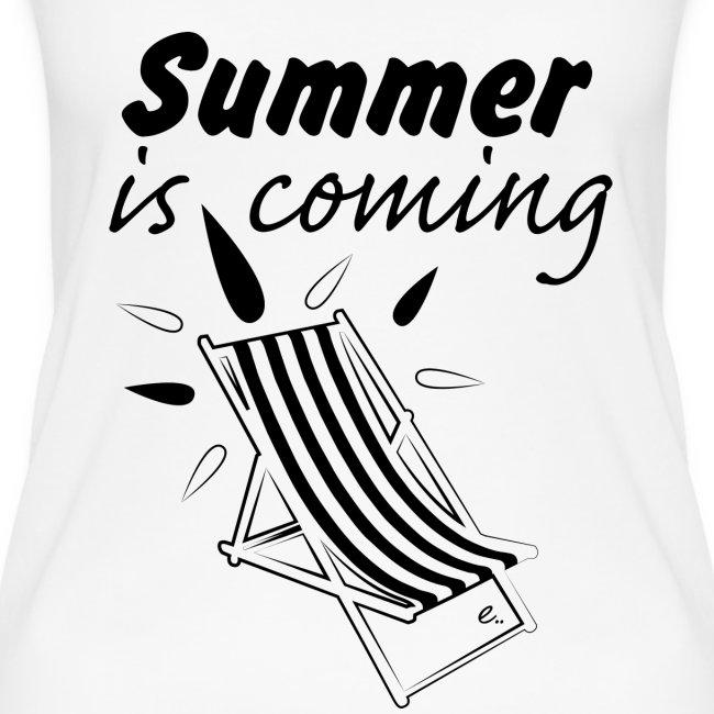 """Débardeur Femme """"Summer is coming"""""""