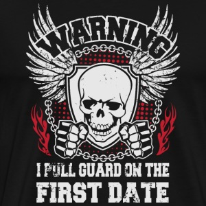 MMA shirt - I pull guard on the first date Camisetas - Camiseta premium hombre