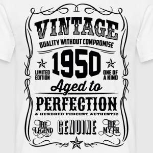 1950 Aged to Perfection Black print - Men's T-Shirt