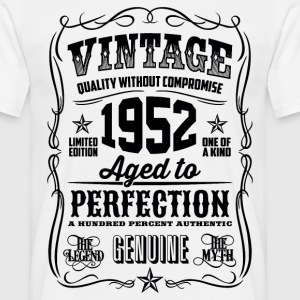 1952 Aged to Perfection Black print - Men's T-Shirt