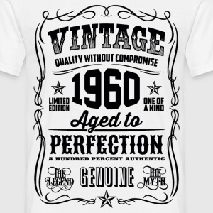 1960 Aged to Perfection Black print - Men's T-Shirt