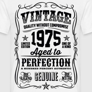 1975 Aged to Perfection Black print - Men's T-Shirt