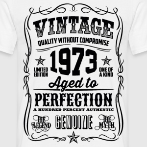1973 Aged to Perfection Black print - Men's T-Shirt