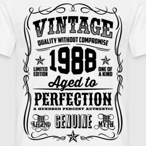 1988 Aged to Perfection Black print - Men's T-Shirt