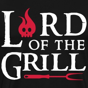 Lord of the Grill T-skjorter - Premium T-skjorte for menn