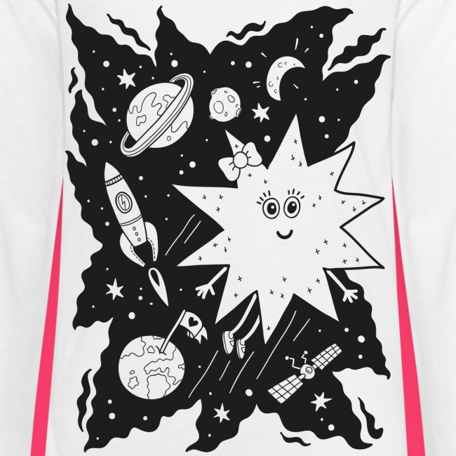 Stella Stern Kinder-Sweatshirt zum Ausmalen