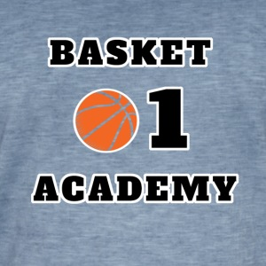 Basket Academy Tee shirts - T-shirt vintage Homme