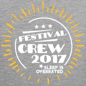 Festival Crew 2017 Sleep is overrated Vêtements de sport - Débardeur Premium Homme