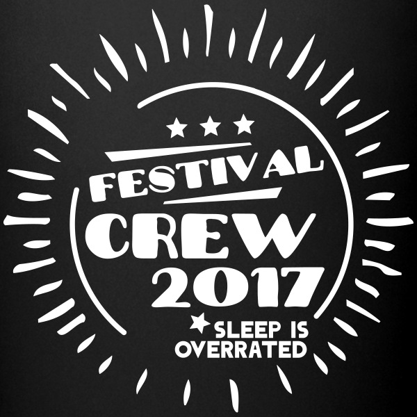 Festival Crew 2017 Sleep is overrated Bouteilles et Tasses - Tasse en couleur