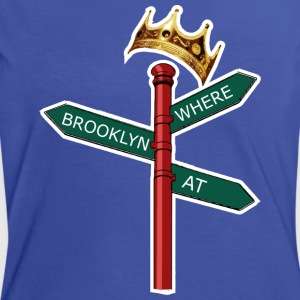 Where Brooklyn At T-shirts - Vrouwen contrastshirt