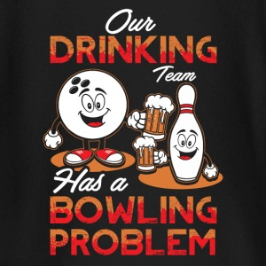 Drinking Team - Bowling Problem - EN baby shirts met lange mouwen - T-shirt