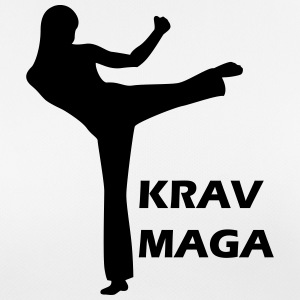 woman fighting krav maga T-shirts - vrouwen T-shirt ademend