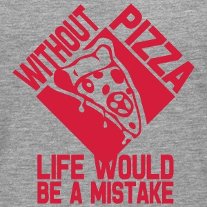 without pizza citation life would mistak Manches longues - T-shirt manches longues Premium Homme