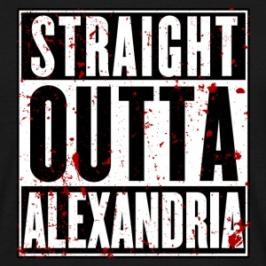 Straight Outta Alexandria - T-Shirt - Men's T-Shirt