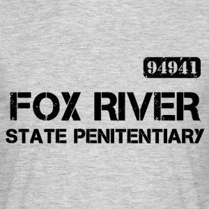 Fox River State Penitentiary Prison Break T-shirt - Men's T-Shirt