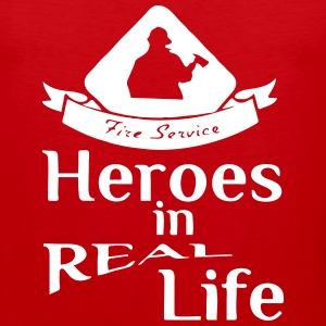 Heroes in Real Life (Feuerwehr - Fire Service) Sports wear - Men's Premium Tank Top