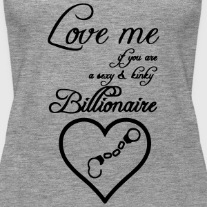 Billionaire Love Tops - Frauen Premium Tank Top