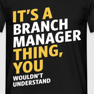 Branch Manager - Men's T-Shirt