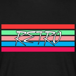 Retro Stripes 2 T-Shirts - Men's T-Shirt