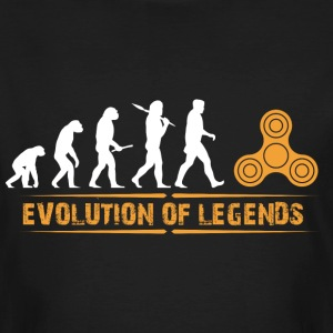 Fidget spinner - evolution of legends T-Shirts - Men's Organic T-shirt
