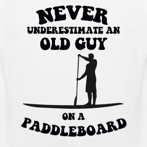 old man paddleboard Sports wear - Men's Premium Tank Top