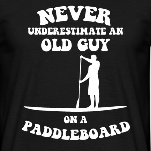 old man paddleboard T-Shirts - Men's T-Shirt