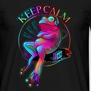FROG KEEP CLAM 2017 (Choose Black) - Men's T-Shirt