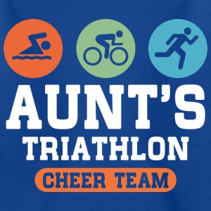 Aunts Triathlon Cheer Tea T-Shirts - Kinder T-Shirt