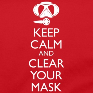 Keep Calm and clear your Mask Umhängetasche - Umhängetasche