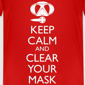 Keep Calm and clear your Mask Teenager T-Shirt - Teenager Premium T-Shirt