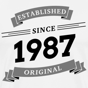 Established since 1987 - Men's Premium T-Shirt