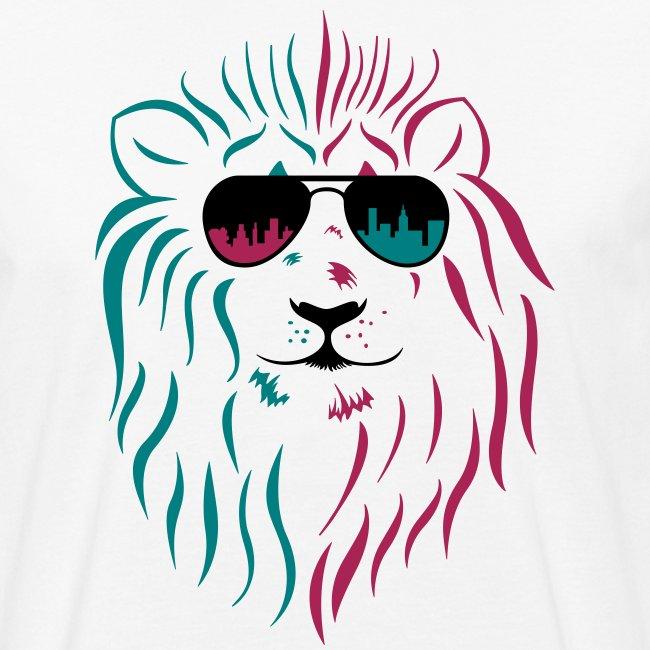 Löwe mit Sonnenbrille