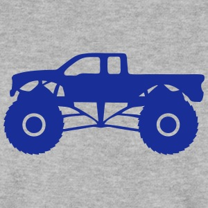 monster truck camion vehicule tout terra Sweat-shirts - Sweat-shirt Homme