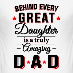 Amazing Dad T-Shirts - Männer Slim Fit T-Shirt