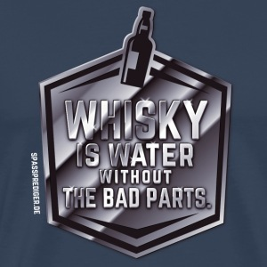 Whisky  is water T-Shirts - Men's Premium T-Shirt
