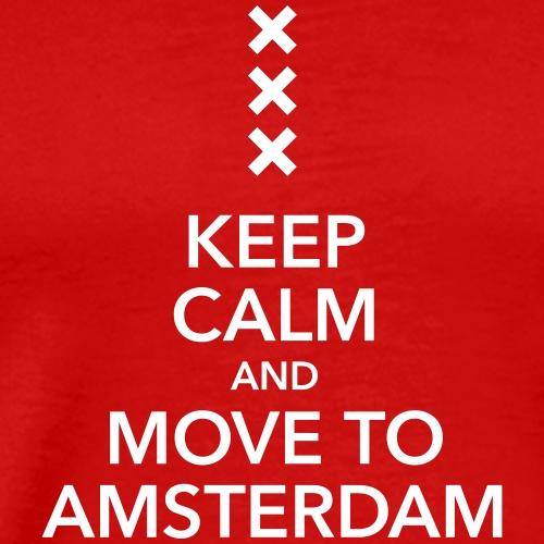 keep calm move to Amsterdam Holland Kreuz Cross