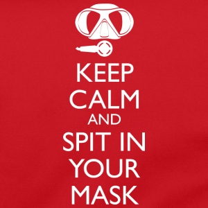 Keep Calm and Spit in your Mask Umhängetasche - Umhängetasche