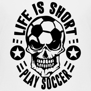 foot soccer life short citation tete mor Tee shirts - T-shirt Premium Enfant