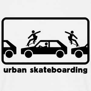 urban_skateboarding T-Shirts - Men's T-Shirt