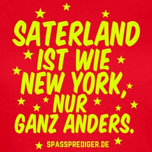 Saterland T-Shirts - Frauen T-Shirt